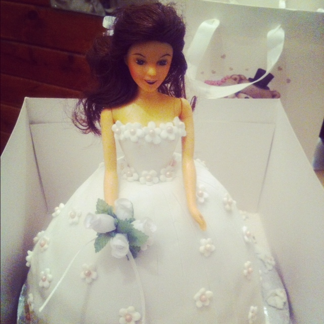 There's a Doll in this Cake…