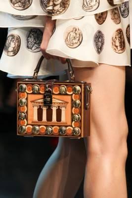 Inside a Greek woman's handbag…