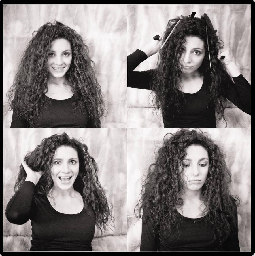 How to Tame a Curly GREEK Mane!