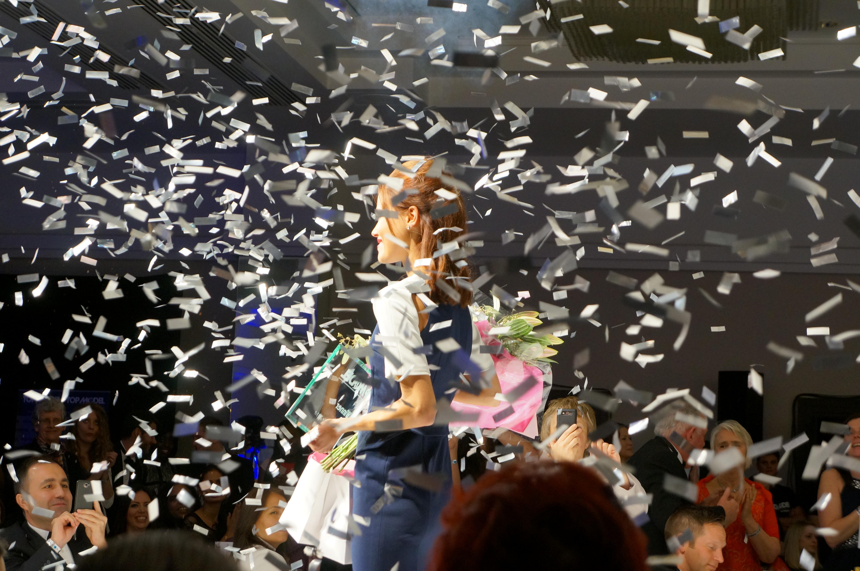 The winner Nirelda Andreka