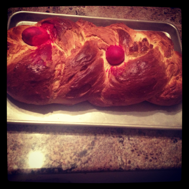 Tsoureki – Easter Bread