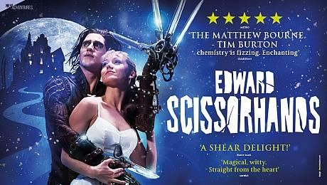 A Christmas Waltz with Edward Scissorhands