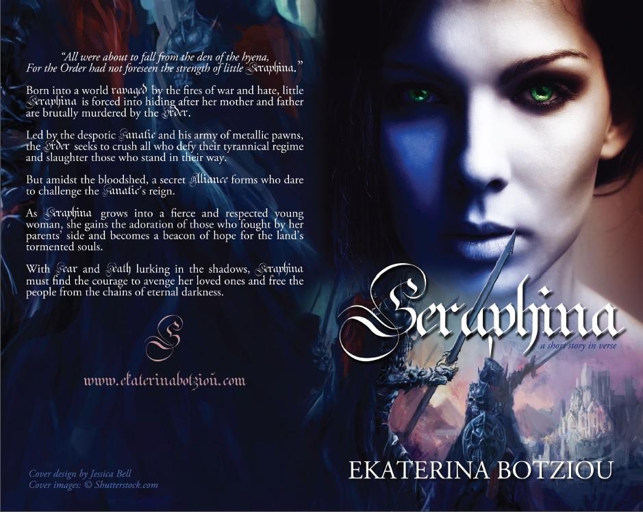 Blurb reveal! ONE week until Seraphina!