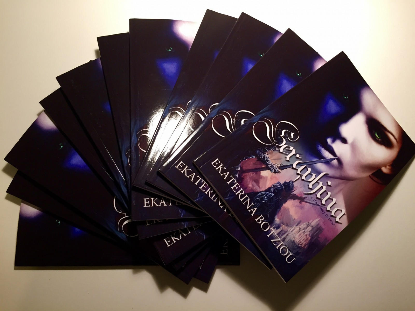 AVAILABLE NOW! Seraphina: a short story in verse