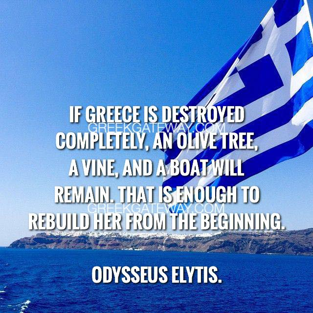 Greece Stands Tall