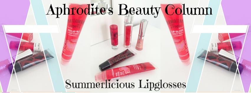 Summerlicious Lipglosses for Greek Goddesses