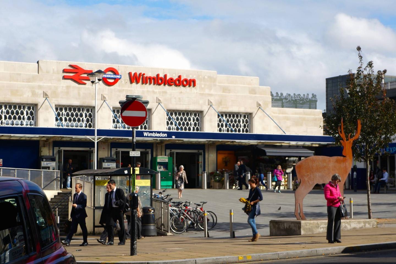 Wimbledon Train Station