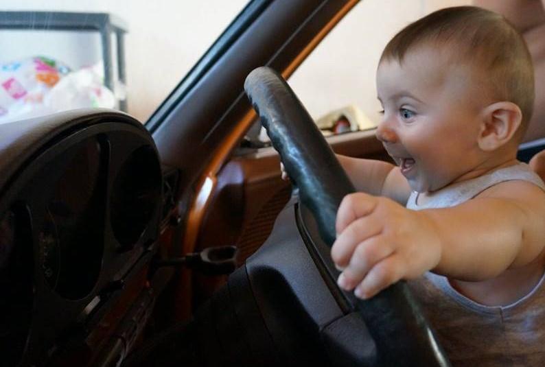 Baby Mercedes