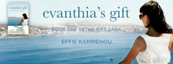 Book Review! Evanthia's Gift by Effie Kammenou