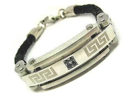 Etsy mens Greek key bracelet