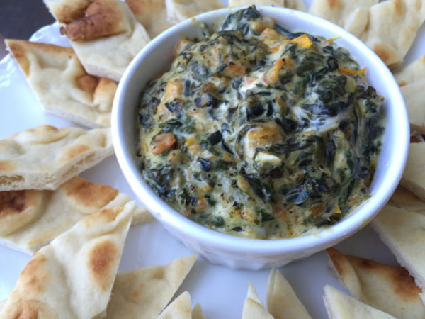 Spinach and kale dip Kouzounas Kitchen