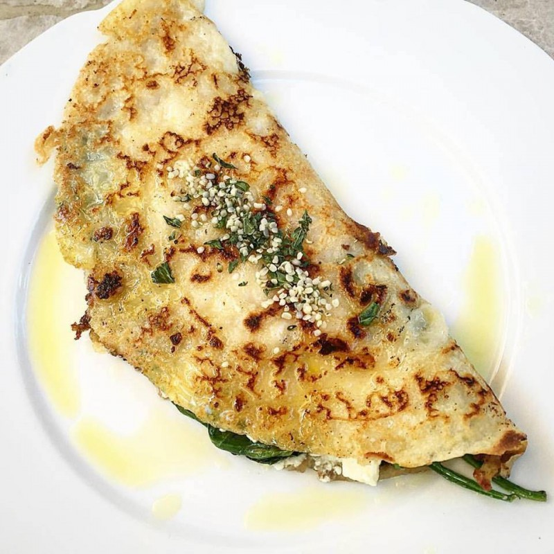 Recipe_Spinach & Feta Crepes