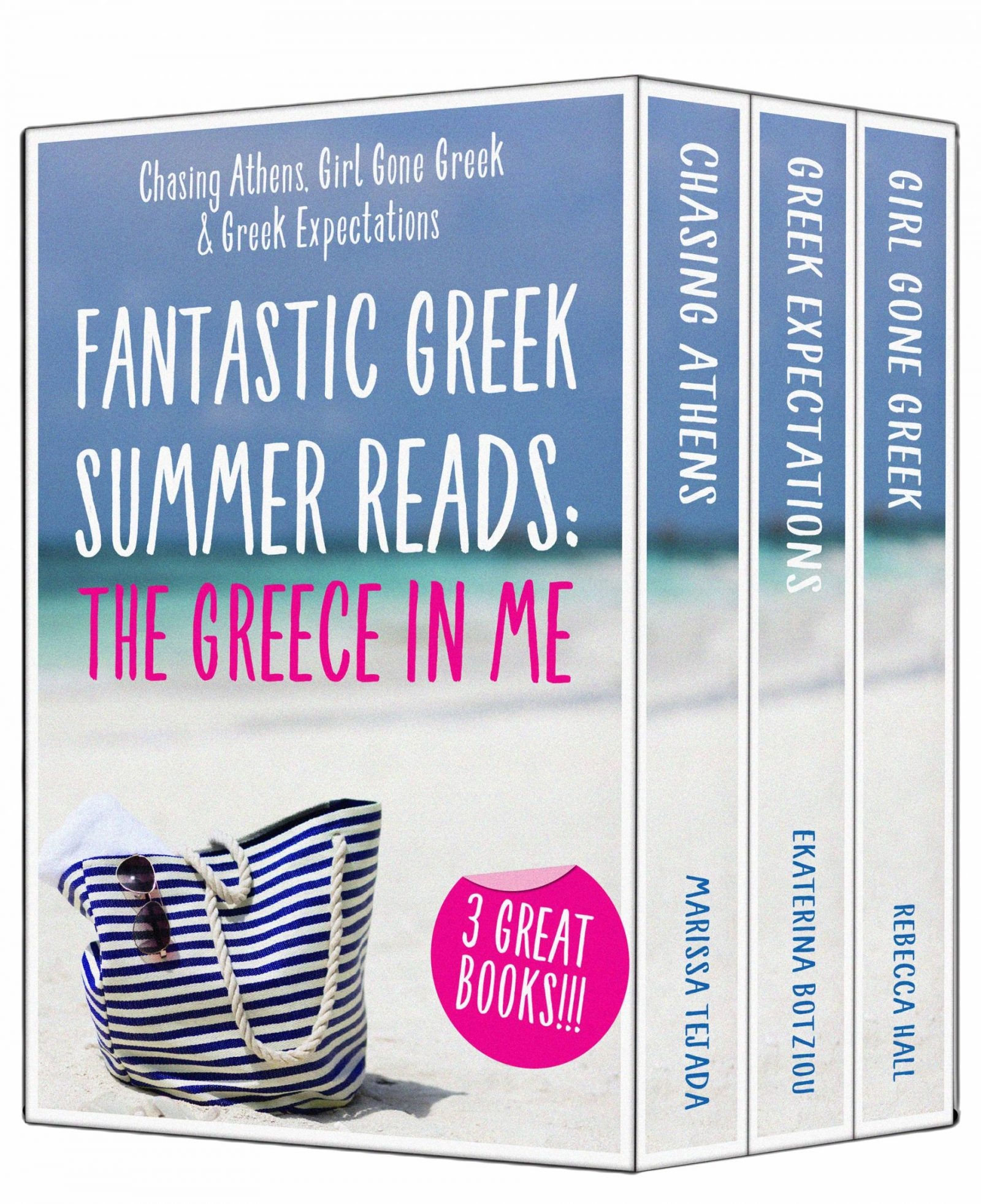 Girls with Greek Expectations! New Kindle Boxset OUT NOW!