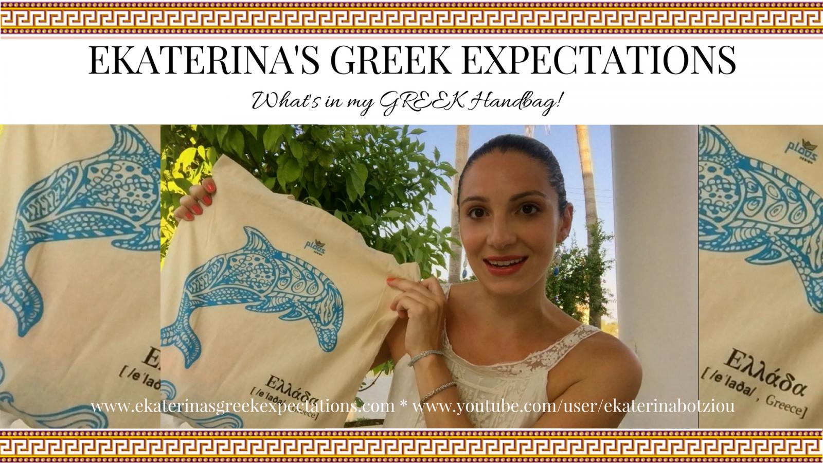 What's in my GREEK Handbag VIDEO!