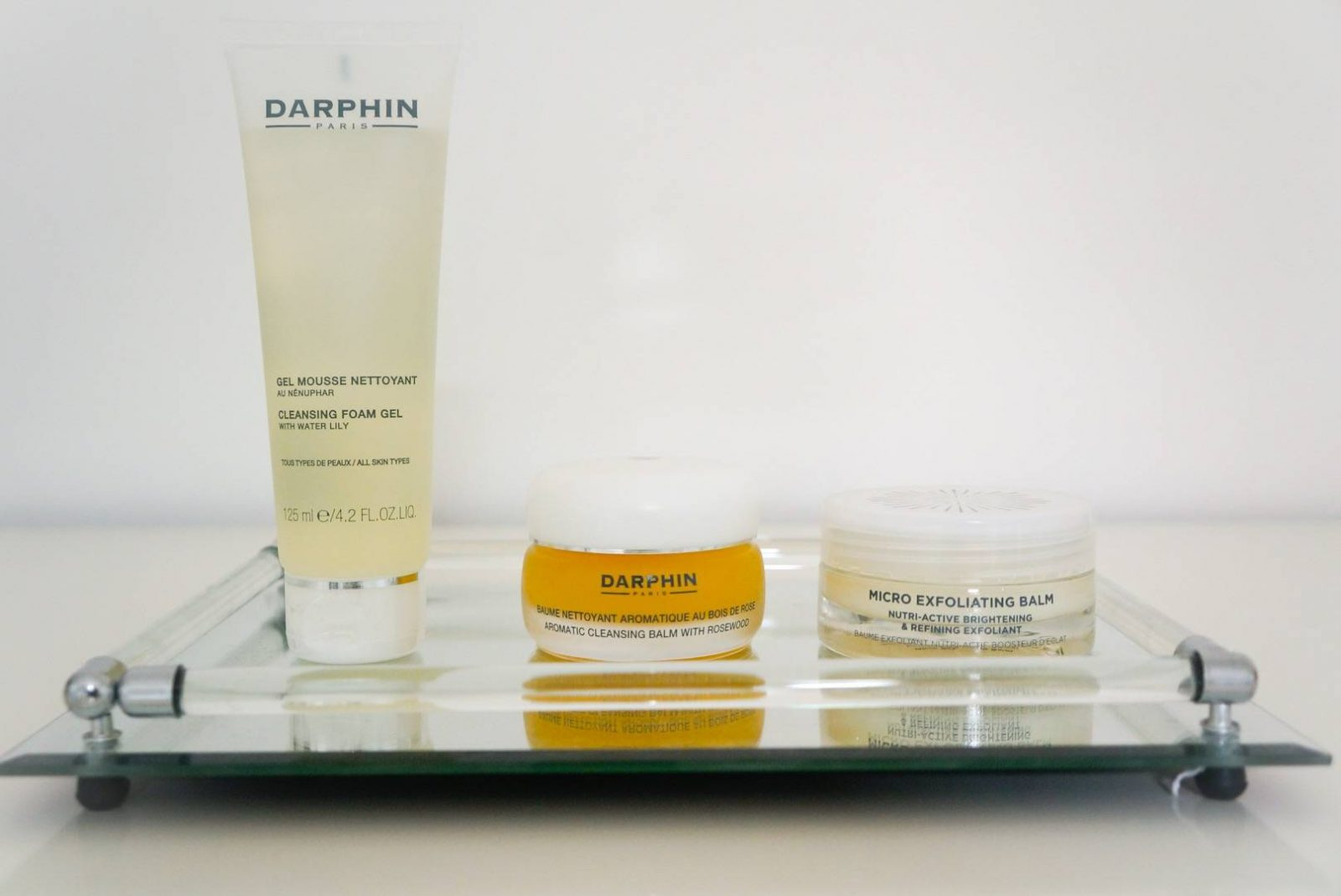 Darphin and Oskia night skincare routine