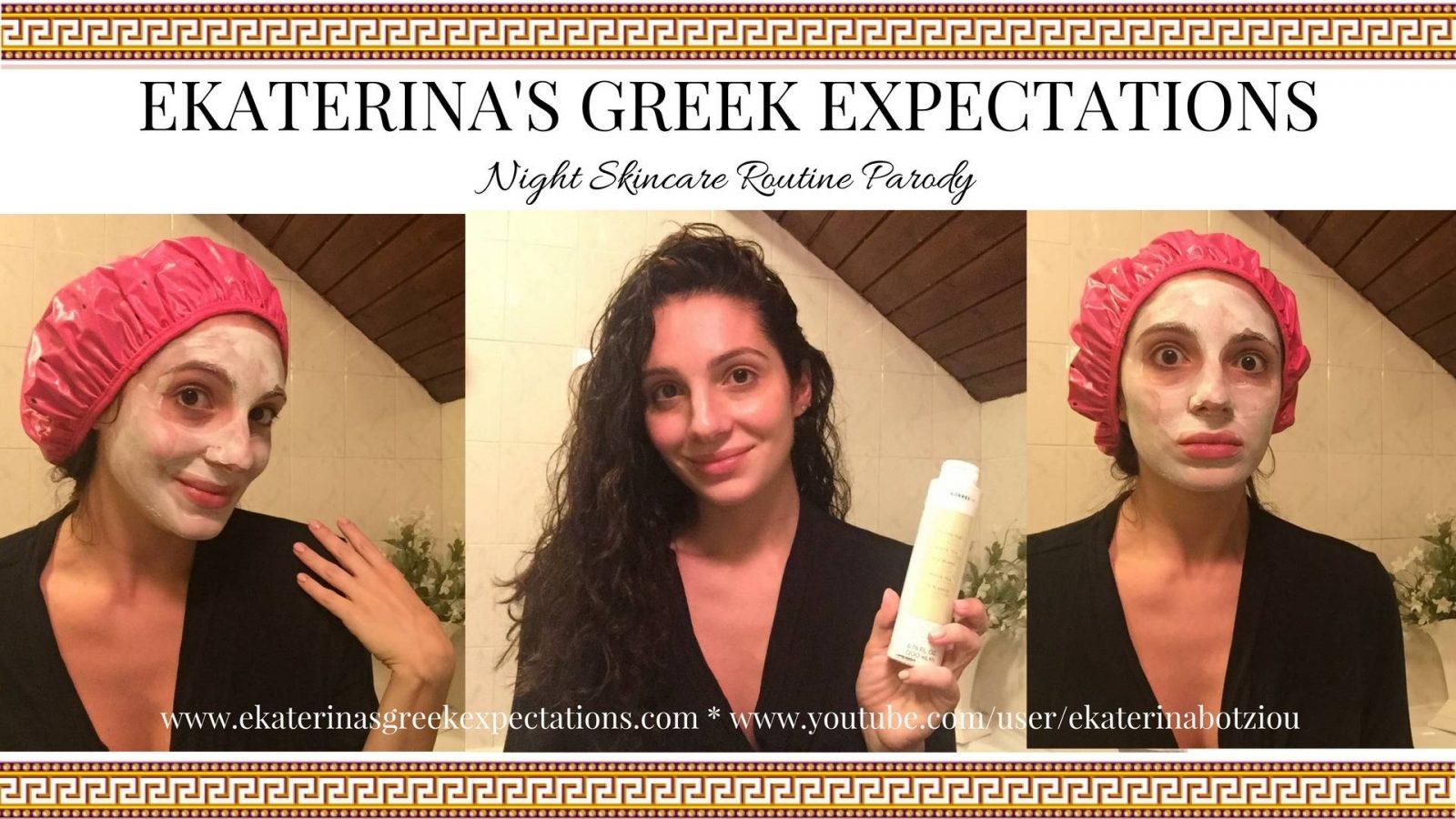 Night Skincare Routine Parody VIDEO!