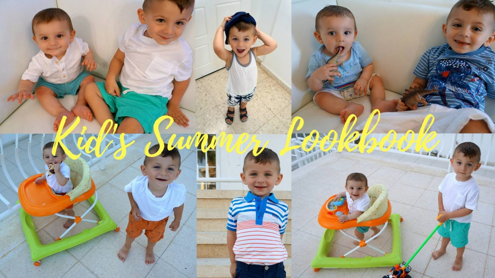 Kid's Summer Lookbook