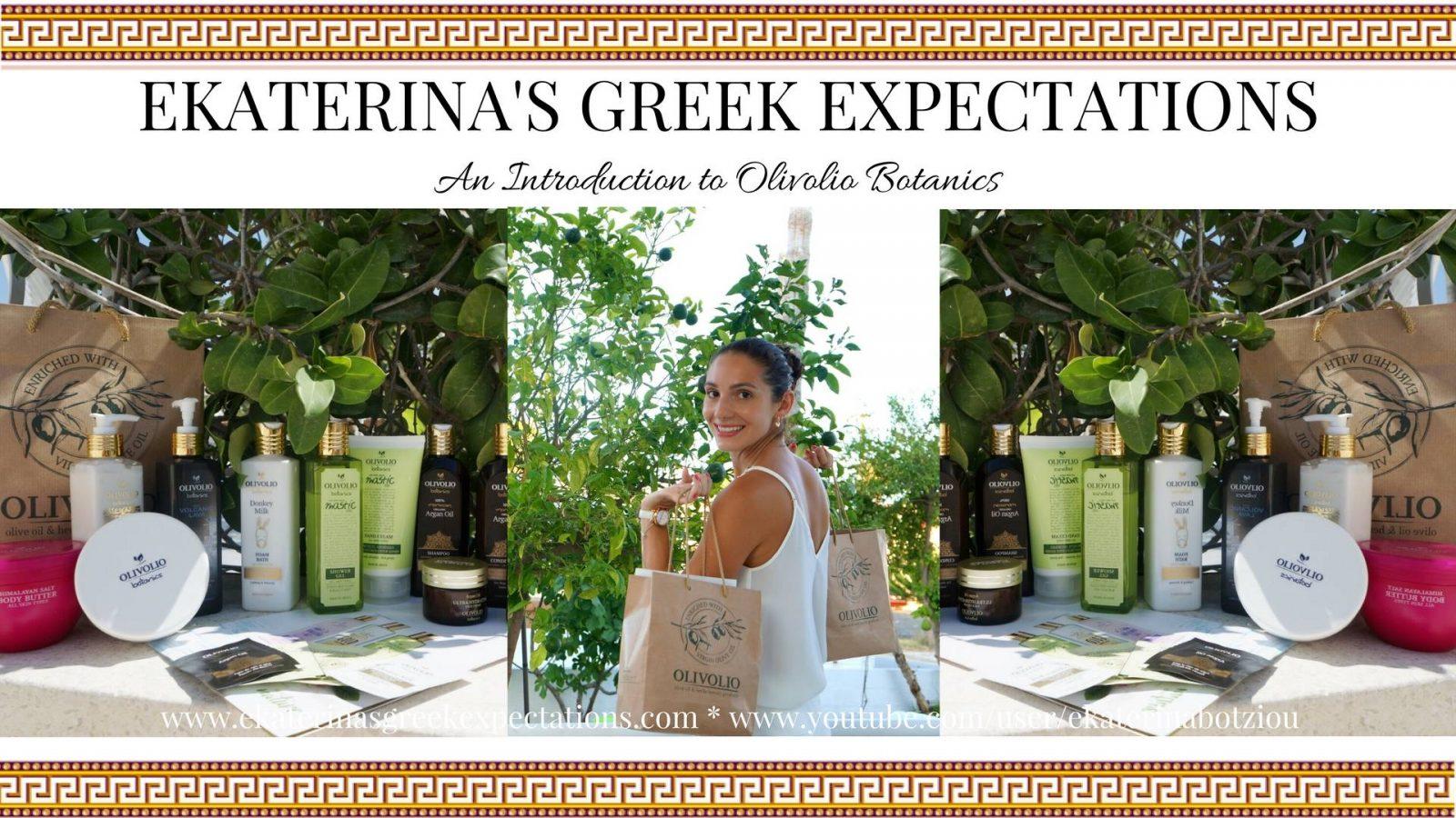 An Introduction to Olivolio Botanics Natural Greek Cosmetics: VLOG
