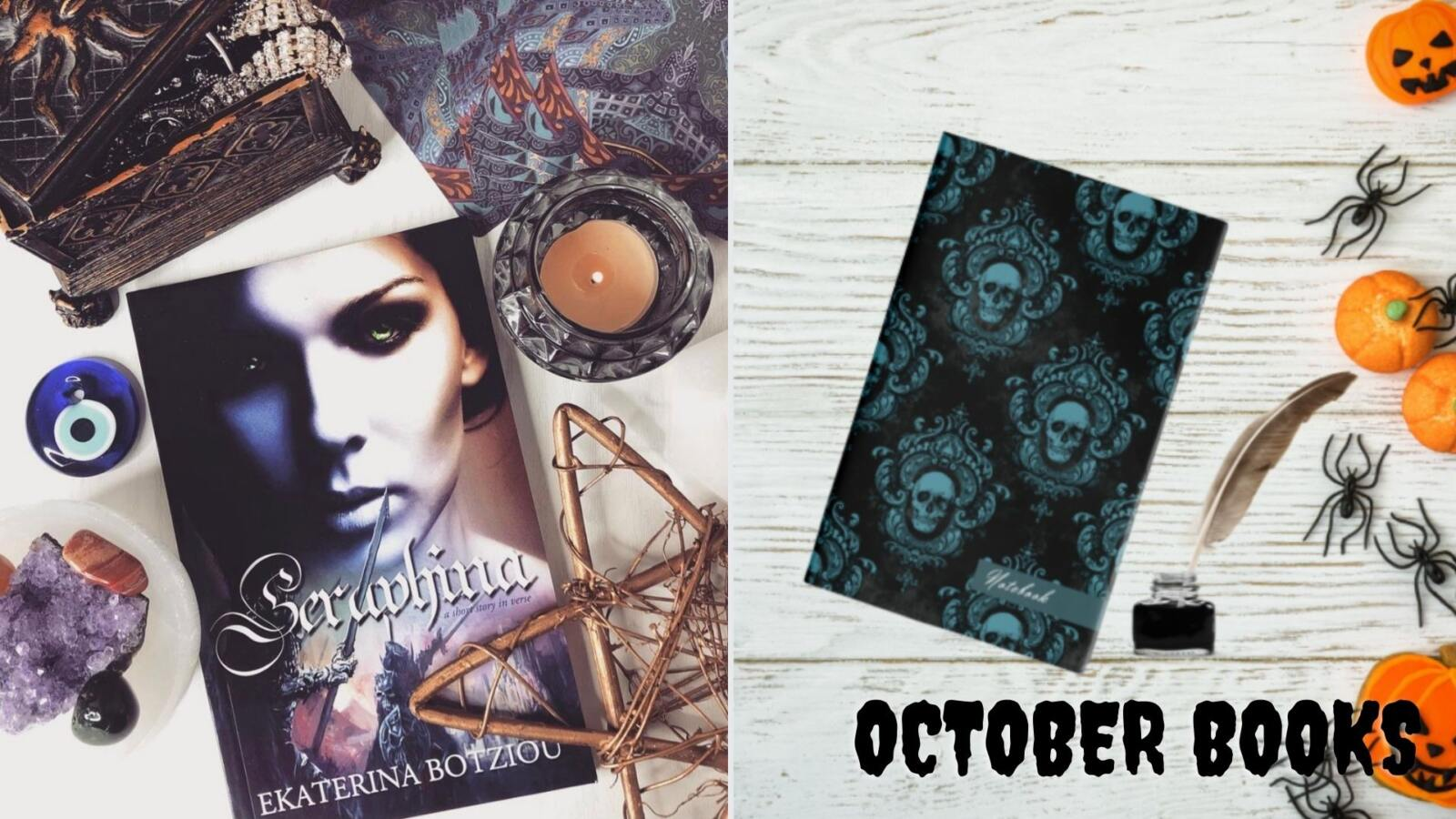 Spooky and Spiritual books for October